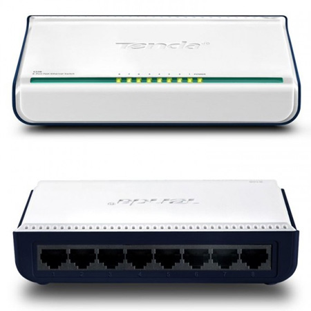 Networking :: Wired Networking/Switches :: Tenda 8-Port 10/100 ...