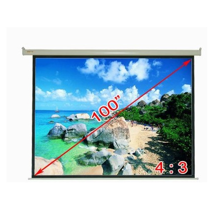 Tvs accessories projector screens 100 motorized for 100 inch motorized projector screen