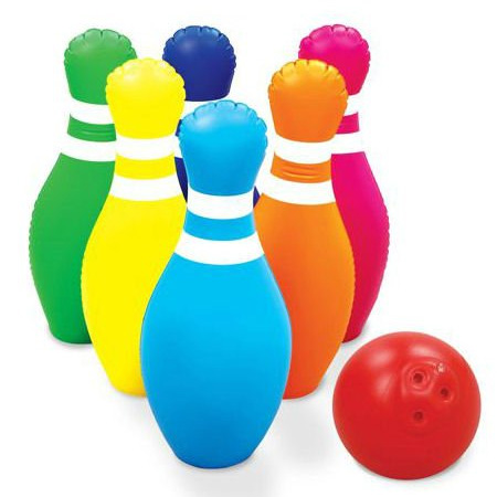 Toys Discovery Kids Inflatable Bowling Set Tech